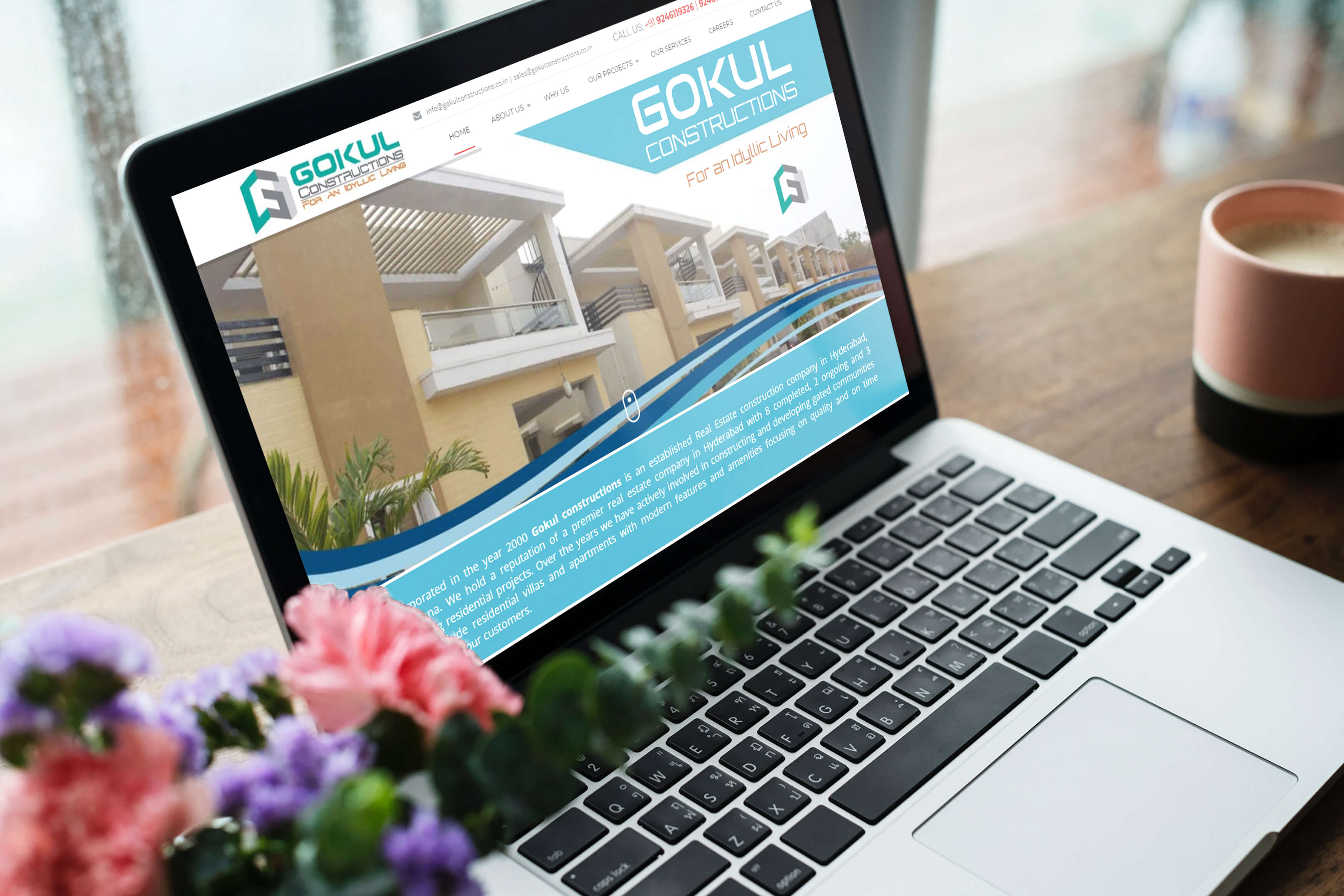 RealEstate Website by Oacer web services